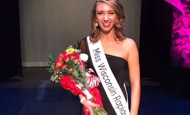 Miss Wisconsin Rapids Danielle Moon